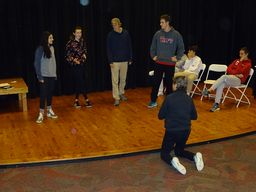 Taft Improv Group Performs for Lower School
