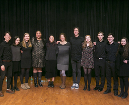 Kenyon College's A Cappella Group, Take Five, Performs for the Rumsey Community