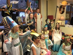 Ancient Egypt Comes to Life in the Ist Form