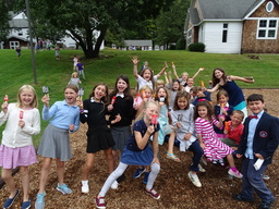 Lower School Celebrates Their Summer of Reading
