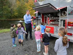 Visit from the Washington Fire Department